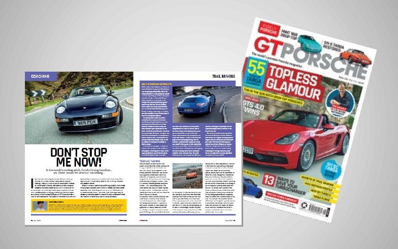 GT Porsche Article - Trail Braking